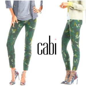 Cabi clover camp ankle zip jeans